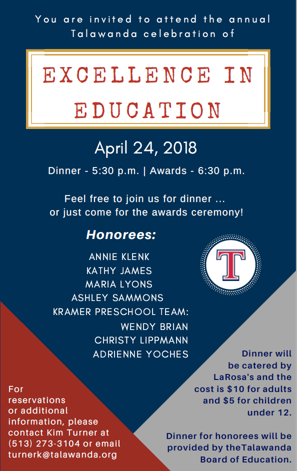 education banquet 2018