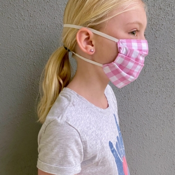 photo-child in face mask