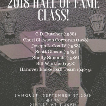 Hall of Fame Flyer