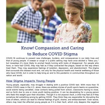 flyer info- covid stigma