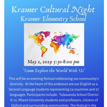 Kramer Culture Night Invite