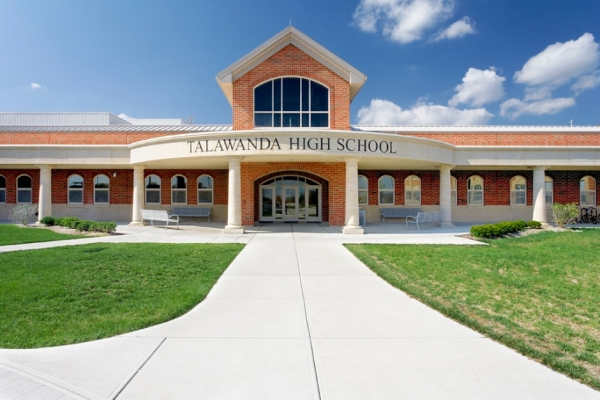 Main Entrance of THS